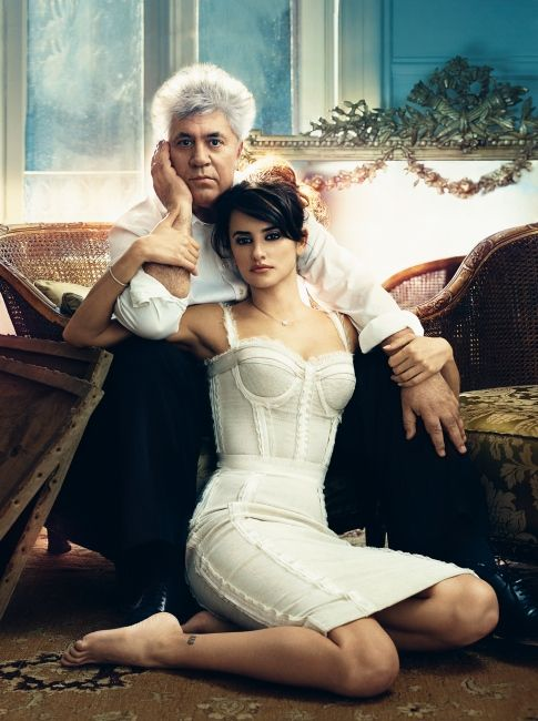 Pedro Almodovar & Penelope Cruz...Pedro is my favorite director and makes some of the BEST films I've ever seen!: