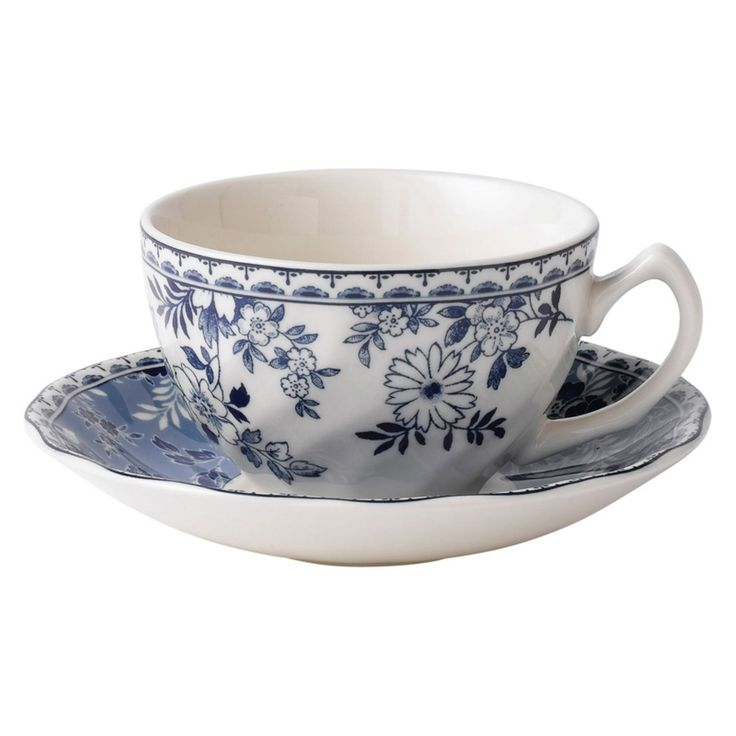 Johnson Brothers Casual Devon Cottage Earthenware Tea Saucer - Set of 6 - WEDG659