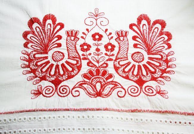 Karelian cross stitches