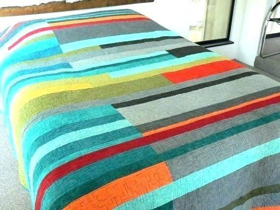Mid Century Modern Comforter Sets Quilt, Mid Century Queen Bedspread