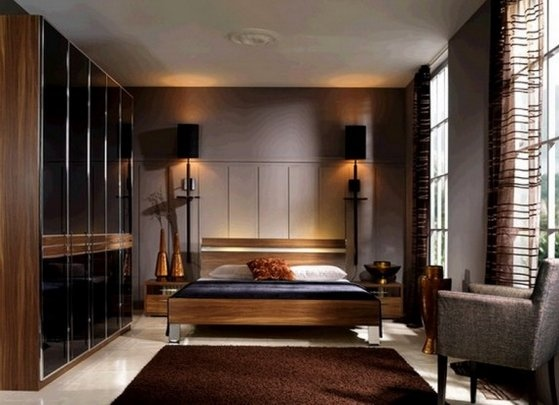 asian bedroom furniture sets. Contemporary Brown Bedroom Furniture Sets With Wood Material: - Modern Asian E