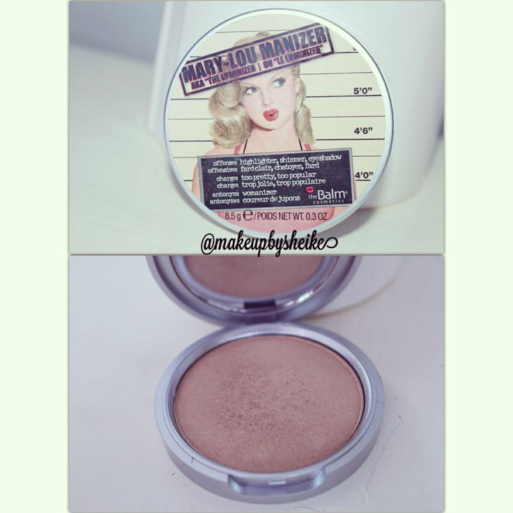 The balm Luminizer for a perfect highlighter.
