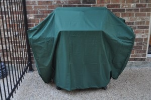 This was reviewed on BlogWithDad, but I personally give this Plow & Hearth grill cover a thumbs up!: Covers Contest