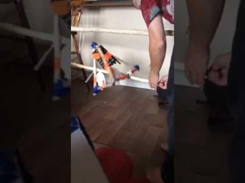Tetrahedron rotor stick demo - YouTube