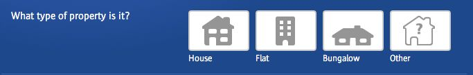 The radio buttons offer a nice visual clue (i.e. buildings cover vs. content cover, or house vs. bungalow). This isn't really necessary, but it adds to the overall aesthetic.