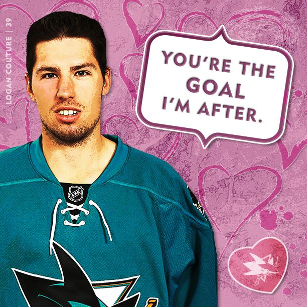 2013 14 sharks valentines day cards san jose sharks fan territory couture