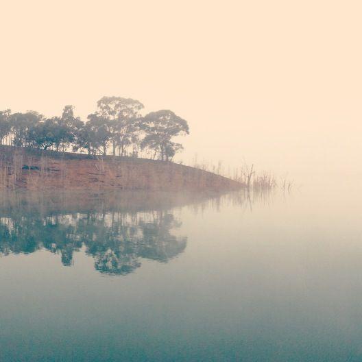 Morning fog in #Italianbay at #lakeeildon #iPhone5 #photography #peaceful #stunning #capturedthemoment