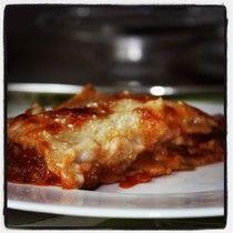 Lasagne ( pasta senza uova) ai funghi  