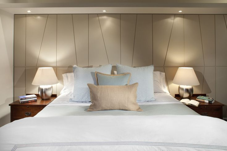 Innovative led puck lights in Bedroom Contemporary with Bedroom Ceiling Light next to Wall Lighting alongside Wall Design and Bulkhead