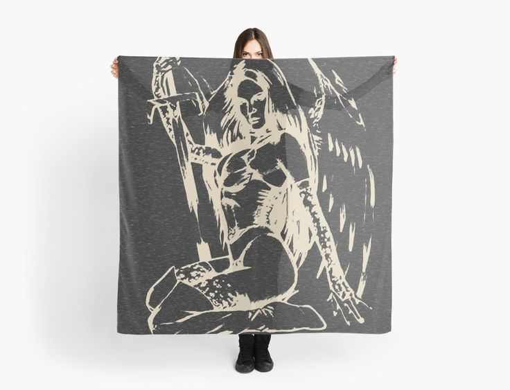 Dark angel, don't be afraid of the dark… • Also buy this artwork on scarves, apparel, stickers, and more.