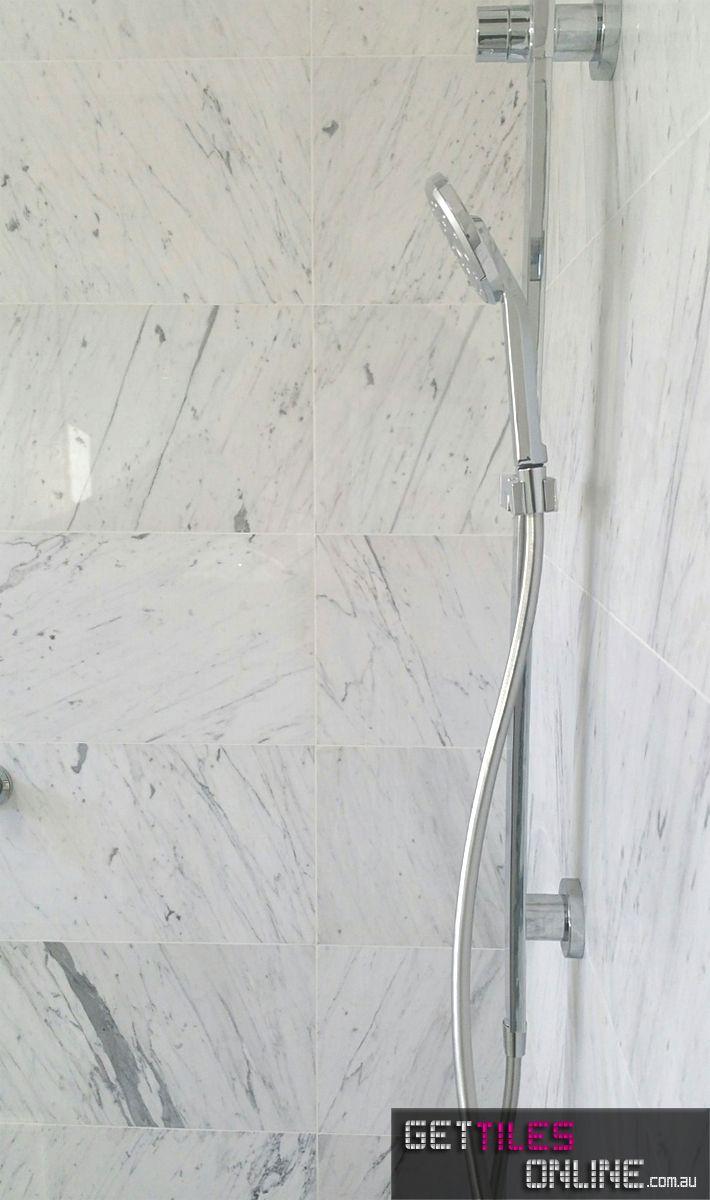 Bianco-Carrara Honed KH 305x610 (Code:00025) - Get Tiles Online