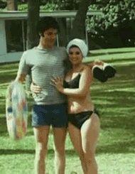 1967 6 02 Elvis & Priscilla en Lune de miel à  Palm Springs Californie