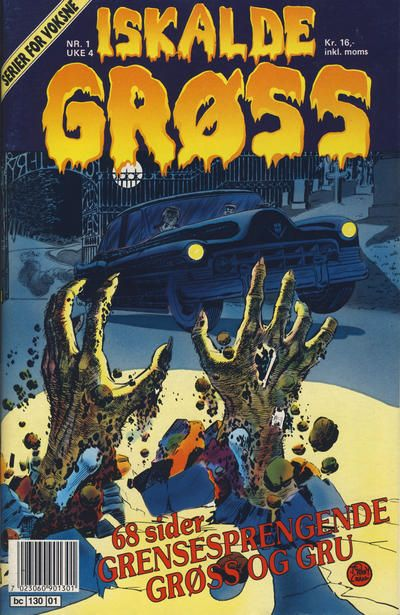 Cover for Iskalde Grøss (Semic, 1982 series) #1/1990