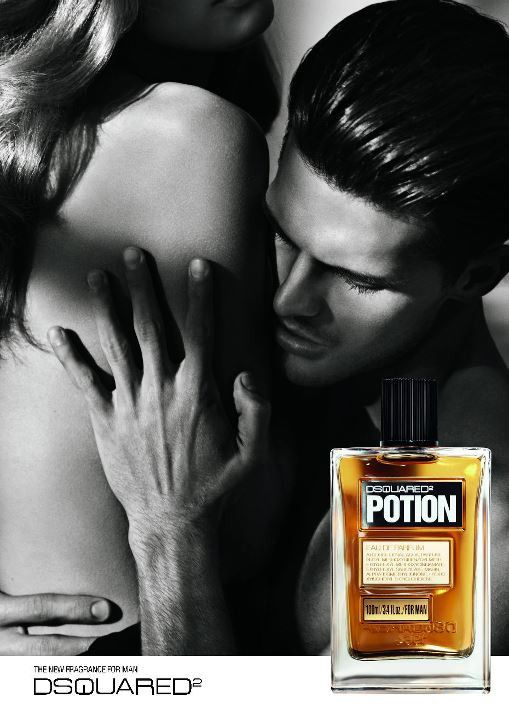 Diego Miguel Evokes Carnal Desires for Dsquared²s Potion ...