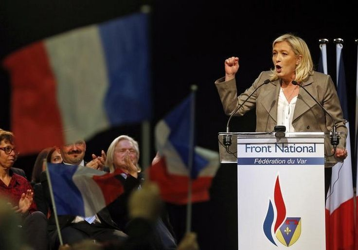 The far-right National Front party made huge gains in French regional elections and could be a sign of a more pro-Israel Europe.