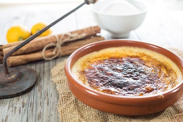 """""""Крема каталана"""" - любимый десерт испанцев"""