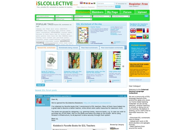 (2012-03) islcollective.com ~ worksheets