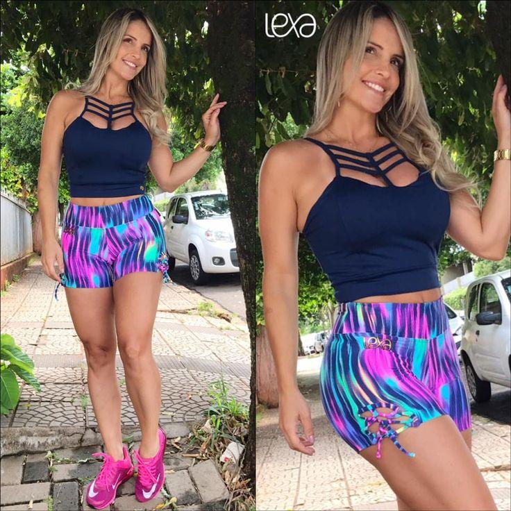 Cropped Jeans Azul Marinho