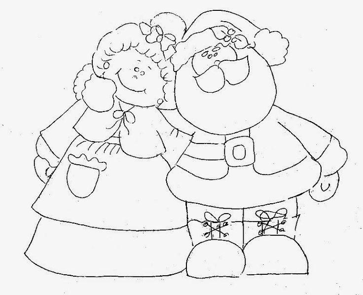 Best 25+ Papai Noel Para Colorir Ideas On Pinterest