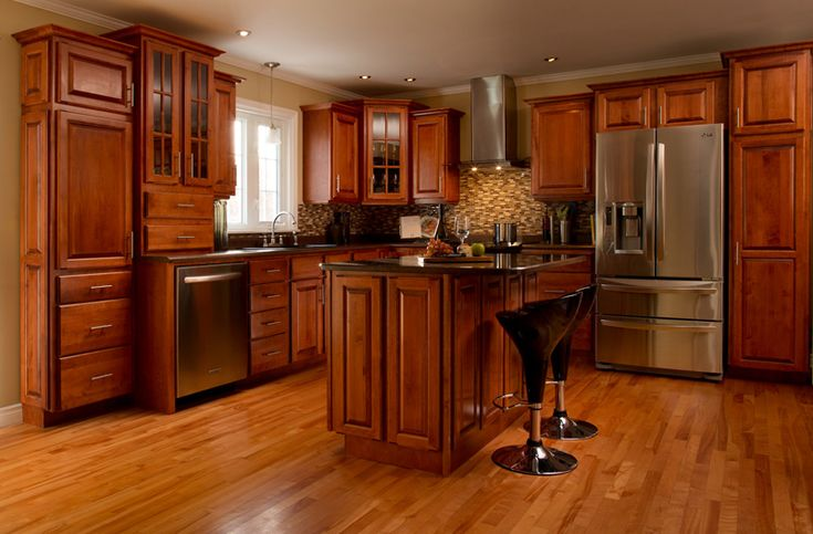Royal Maple Rosewood-Designed by Aileen Smith, Buck's Home Building Centre, Bridgewater, NS