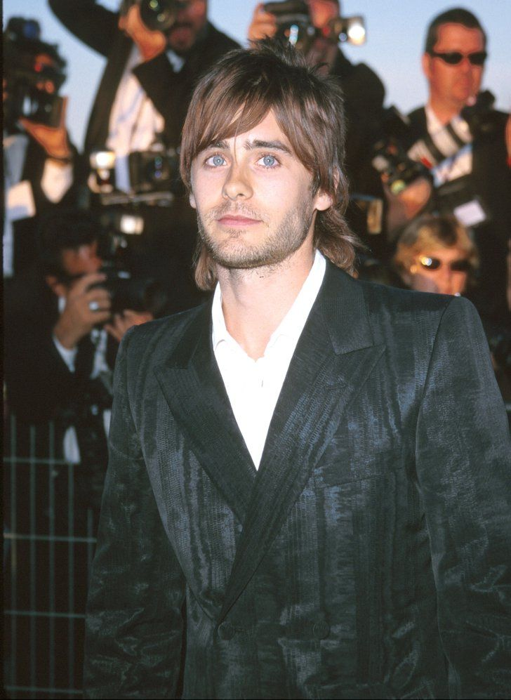 """Pin for Later: Join Us in Obsessing Over Jared Leto's Amazing Hair Evolution 2000 Before there was Bieber . . . there was Jared. On anyone else bangs and a mullet would seem silly, but on Jared, we'll go with """"hipster chic."""""""