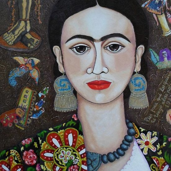 """Frida: """"Feet, what do I need you for If I have wings to fly?"""""""
