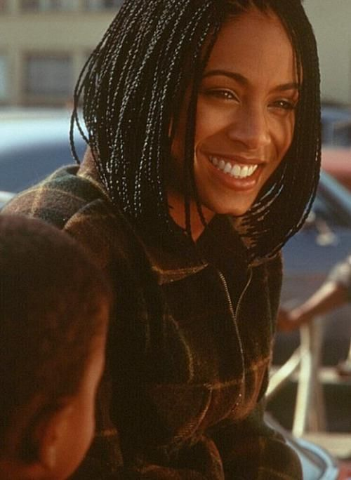 90s Jada Pinkett Smith Short Box Braids Box Braids
