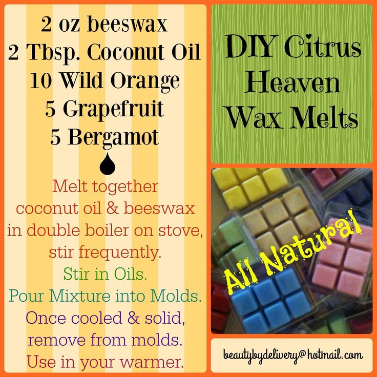 DIY Wax Melts                                                                                                                                                                                 More