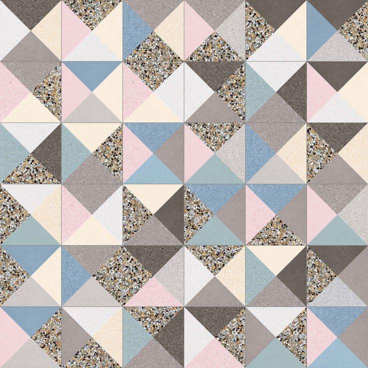 VIVES - Pavimento gres Cestio Multicolor 20X20 | azulejo hidraulico