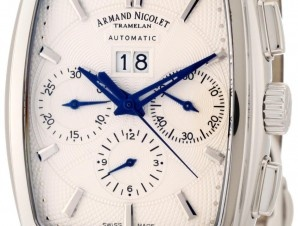 Armand Nicolet creates mechanical watches of limited production, resulting from the know-how and special technical skills of elite specialists who have worked for the Maison for generations. $8600.00