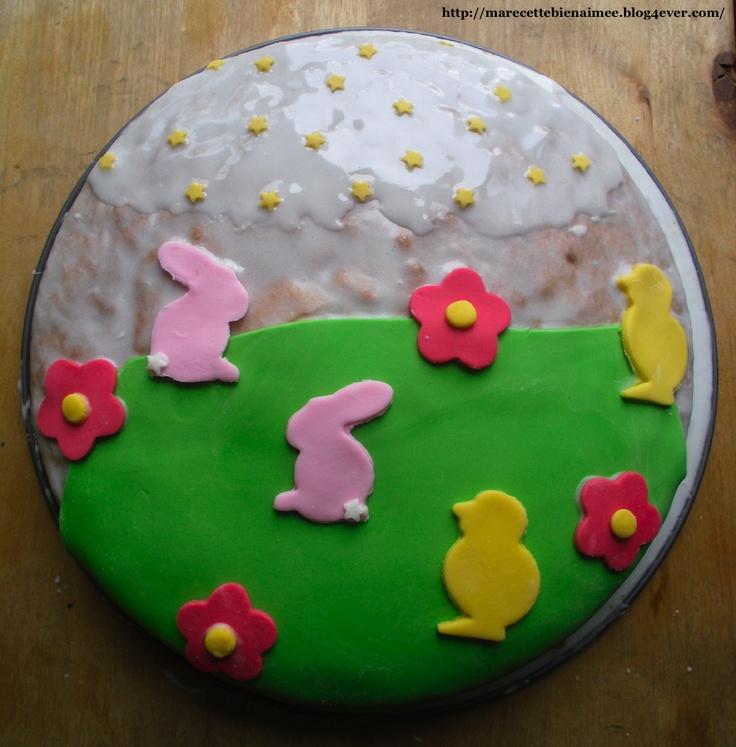 Gâteau yaourt de Pâques   http://marecettebienaimee.blog4ever.com/