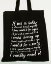 Love To Shop Canvas Shopper Bag
