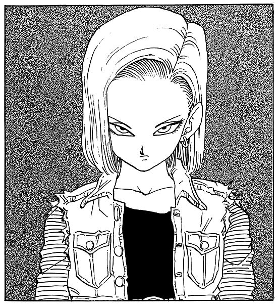 My favorite character: Android #18 #dbz #dragon_ball