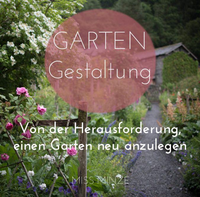 Cool Garten neu anlegen Wo soll ich nur anfangen Ein Leitfaden