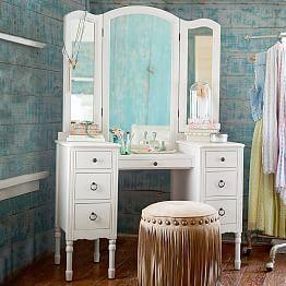 Bedroom Vanities, Vanities For Bedrooms & Girls' Vanities   PBteen