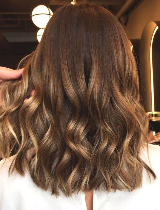 72 idées de couleur de cheveux les plus branchées pour les brunes en 2019