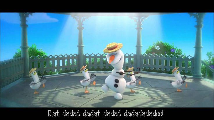 La Reine Des Neiges - Olaf en été - Paroles - Dany Boon - Version Française