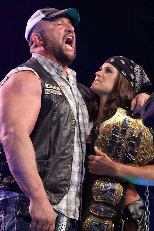 Bully Ray and Brooke tessmacher | Best In The Business ... Brooke Tessmacher Aces And Eights