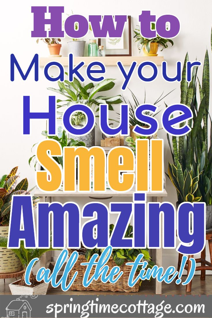 Make Your Home Smell Amazing By Using These Wonderful Tips And