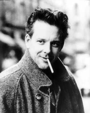 """the """"original"""" Mickey Rourke in The Pope of Greenwich Village...so handsome here"""