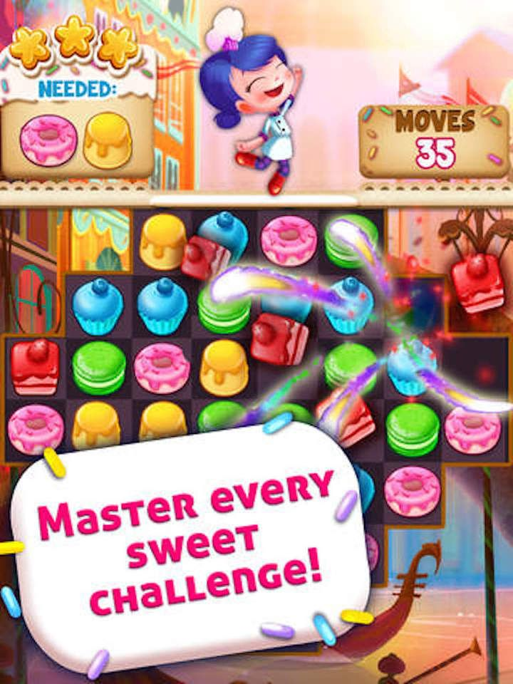 Cookie Crush Blast - Jolly splash match 3 games screenshot 9