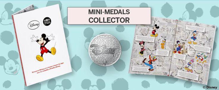 Μικροί Συλλέκτες Στη σειρά των νομισμάτων προστίθεται και η σειρα των μεταλλίων, που απευθύνεται στου Μικρούς Συλλέκτες! 10 μετάλλια με τον Μικυ και τους φίλους του που τοποθετούνται σε ειδικές θηκες  στο άλμπουμ αποτελεί ένα εξαιρετικό δώρο για μικρούς και μεγάλους!