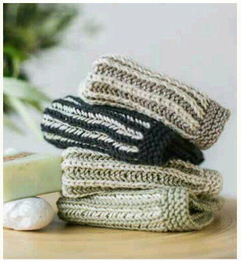free knitting pattern | KnitAtHome | knitted dishcloth | knitted washcloth | strikket fille | strikket klut | strikket karklud