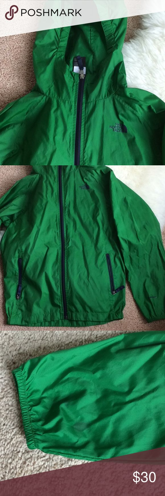 North face jacket North face windbreaker-workout (waterproof / wind resistant) very thin , stains on some spots pictures have been posted , overall still good no holes. Can fit as a small women North Face Jackets & Coats
