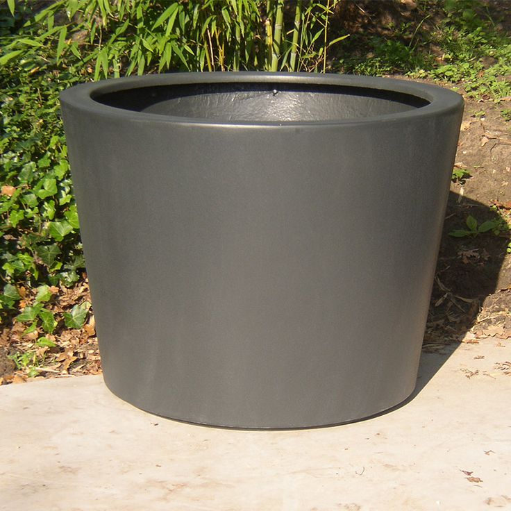 Planters Garden Planters And Grey On Pinterest