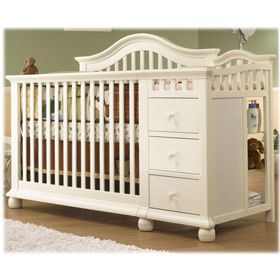26 Best Convertible Crib With Changing Table Images On