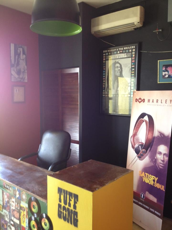New renovations in the reception area! #TuffGong