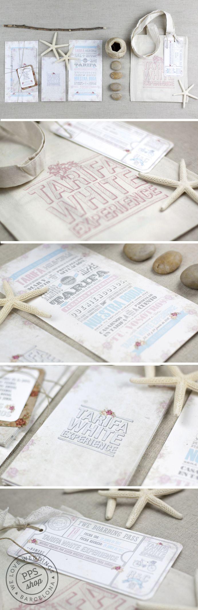 Boda personalizada PPStudio para Rebeca & César http://www.projectpartystudio.com/bodas-personalizadas-2/rebeca-cesar.html #boda #invitacion #wedding #stationery #ppstudio #handmade #stamp #sello #destinationswedding #beach #playa