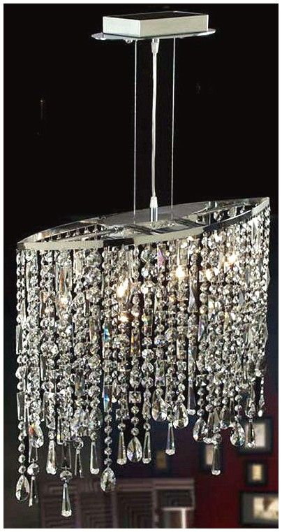 Modern Rectangular Crystal Chandelier   Chandelier Swith