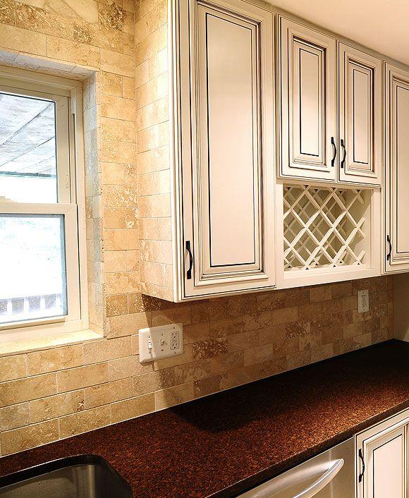 Brown Subway Tile Kitchen Backsplash: Best 25+ Beige Cabinets Ideas On Pinterest